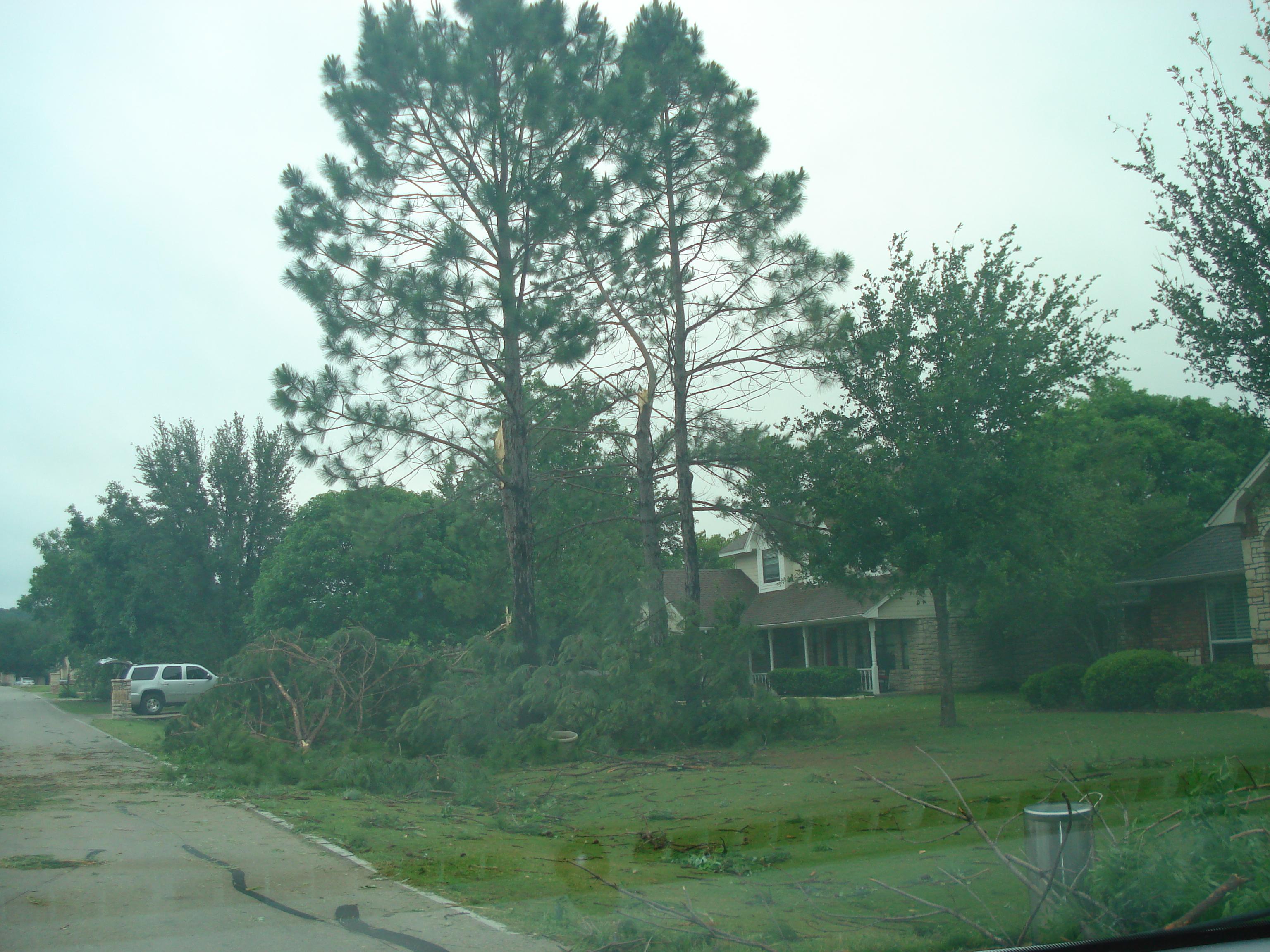 May 15 Tornado Damage Pictures 2013 Pecan Plantation Vfd