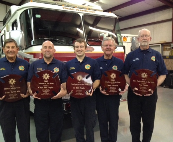 2013 Fire Dept Awards