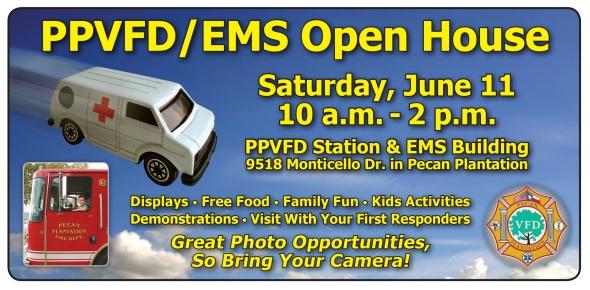 PPVFD-EMS Open House Flier