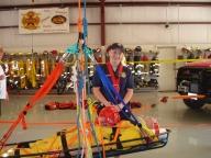 Julianna Eckley Rookie Firefighter