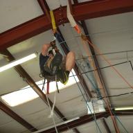 FF Rex's high angle rescue demo